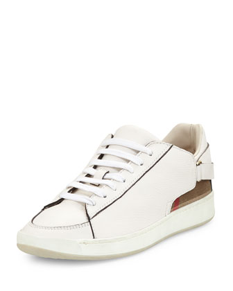Pledwick Check-Back Sneaker, Natural