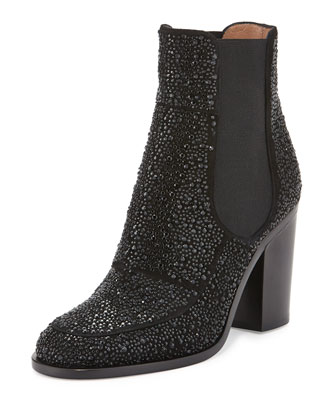 Glenn Strass Chelsea Boot, Black