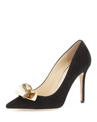 Vesna Metal Bow Pump, Black