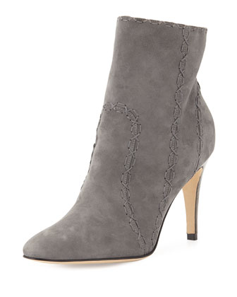 Rubio Samba Suede Ankle Boot, Gray