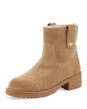 Wayland Fur-Lined Boot, Camel