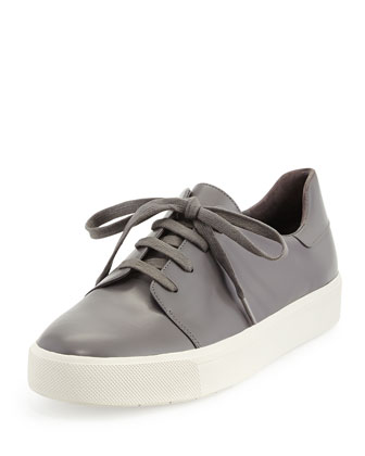 Bale Lace-Up Low-Top Sneaker, Ceramic