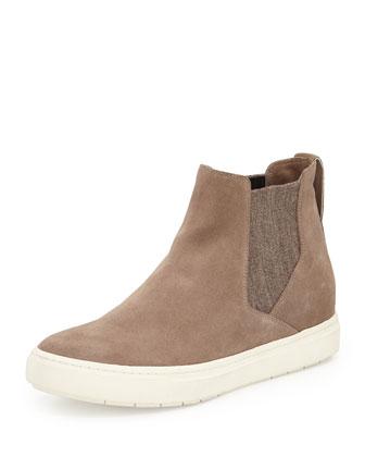 Newlyn Suede Sneaker Hybrid, Newstone