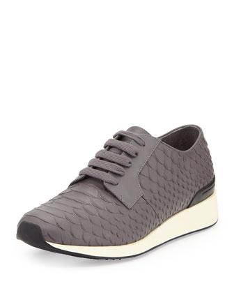 Rayner Python-Print Trainer Sneaker, Ceramic