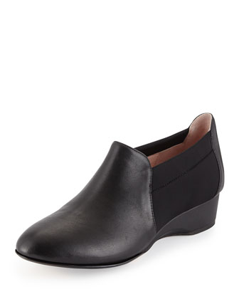 Feo Demi-Wedge Slip-On, Black