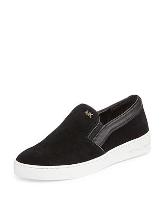 Keaton Sport Suede Skate Sneaker, Black