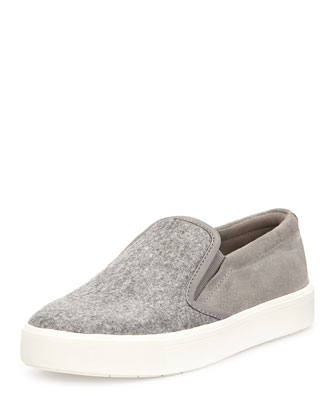 Banler Combo Slip-On Sneaker, Quartz/Truffle