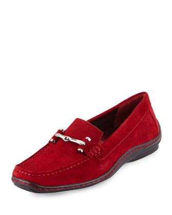 Lianna Oiled Suede Loafer