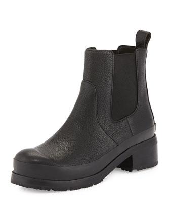 Original Leather Chelsea Boot, Black