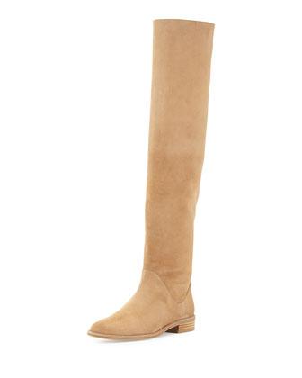 Rockerchic Suede Knee Boot