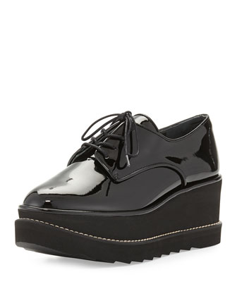 Pipekent Patent Platform Oxford, Black
