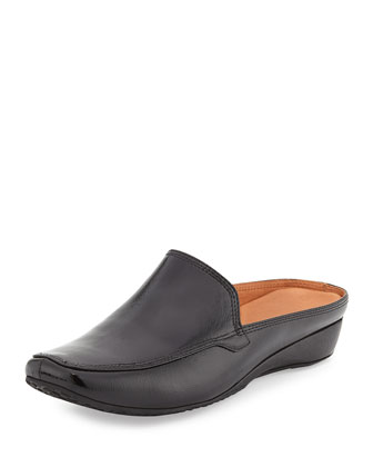 Imex Demi-Wedge Mule, Black