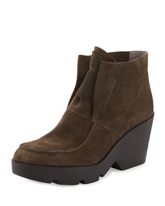 Treat Wedge Desert Boot, Surplus Gray