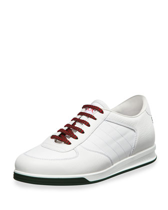 1984 Low Top Leather Sneaker, White
