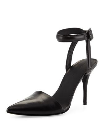 Lovisa Leather d'Orsay Pump, Black