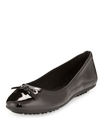Juliet Escape Ballerina Flat, Black
