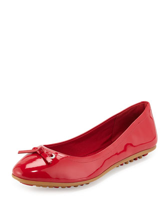 Juliet Escape Ballerina Flat, Tango Red