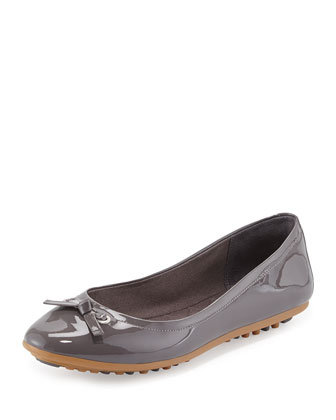 Juliet Escape Ballerina Flat, Storm Cloud