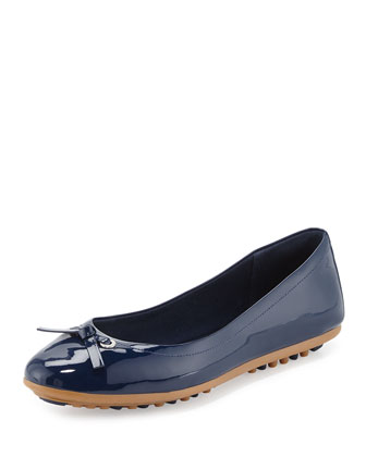 Juliet Escape Ballerina Flat, Blazer Blue