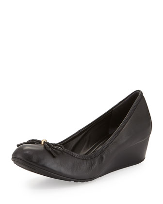 Tali GRAND/OS Ballerina Wedge, Black