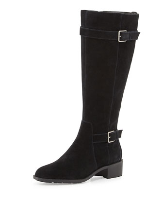 Putnam Weather-Resistant Tall Boot, Black