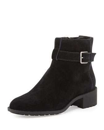 Putnam Weather-Resistant Ankle Boot, Black