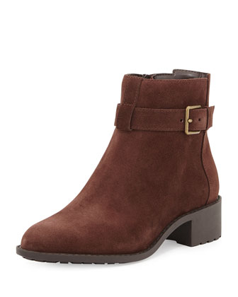 Putnam Weather-Resistant Ankle Boot, Chestnut