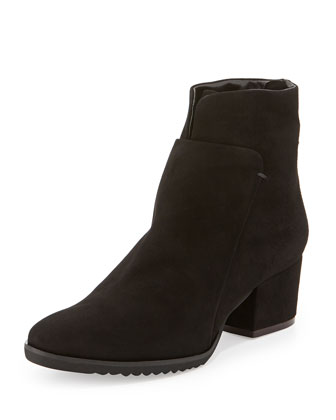 Fraley Suede Ankle Boot, Black