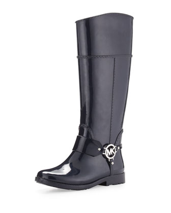 Fulton Harness Rain Boot, Navy