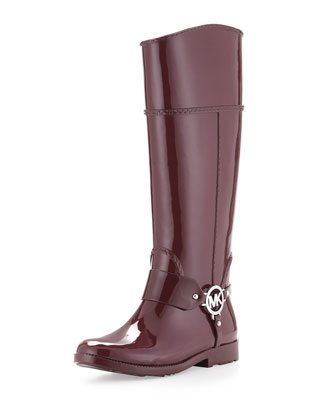 Fulton Harness Rain Boot, Merlot