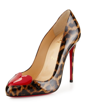 christian louboutin platform oxford pumps