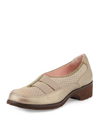 Tuuli Double-Strap Slip-On Sneaker, Quartz