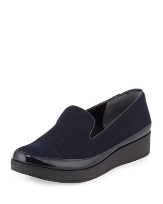 Verve Mesh Comfort Slip-On, Navy