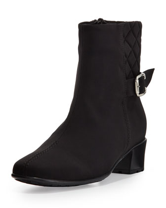 Yannik Waterproof Ankle Boot, Black