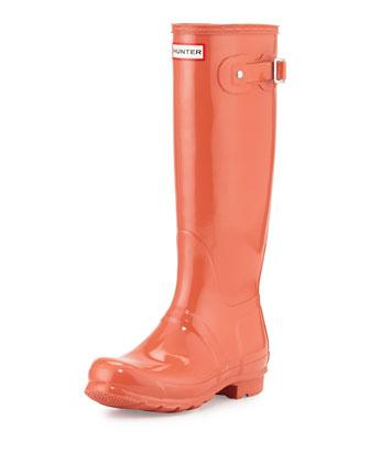 Original Tall Gloss Rain Boot, Sunset