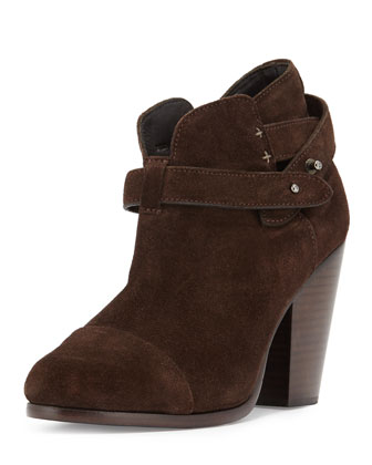 Harrow Suede Ankle Boot, Espresso