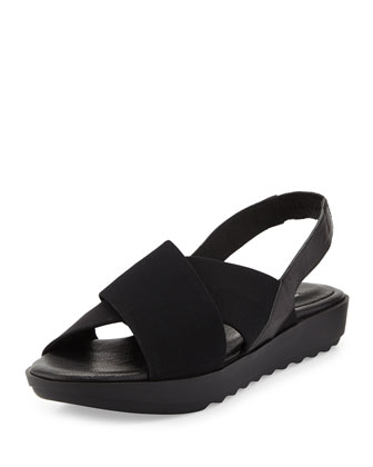 Trek Crisscross Wedge Sandal