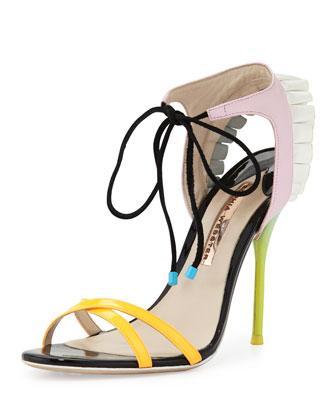Maribel Fill 100mm Sandal, Multi