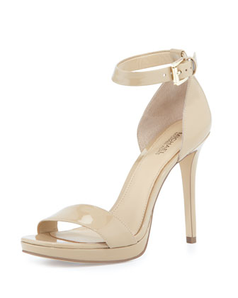 Sienna Patent d'Orsay Sandal, Nude