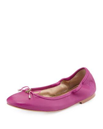 Felicia Classic Ballerina Flat, Fuchsia