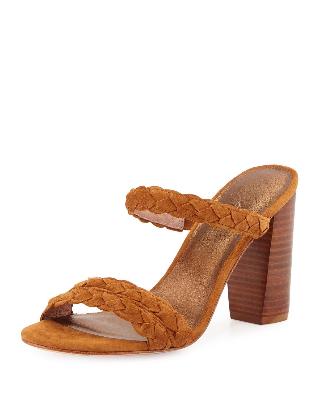 Alexus Braided Mule City Sandal, Whiskey, Women's, Size: 37.0B/7.0B - Joie