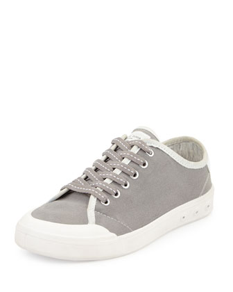 Standard Issue Canvas Lace-Up Sneaker, Gray