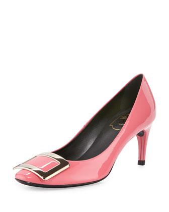 Belle de Nuit Patent Pump, Pink