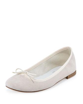 Cendrillon Suede Ballerina Flat, Eve