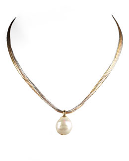 Majorica White Pearl Necklace