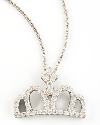 Diamond Crown Necklace