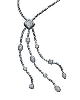 David Yurman Tassel Confetti Ice Necklace