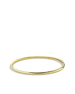 David Yurman Cable Stack Bangle