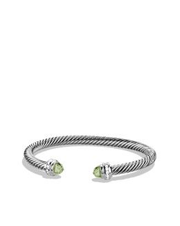 David Yurman Cable Classics Collection® Bracelet, Prasiolite