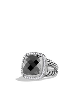 David Yurman Albion Ring, Hematite, 14mm